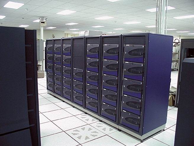 OSC's SGI 1400L system, later known as Brain.