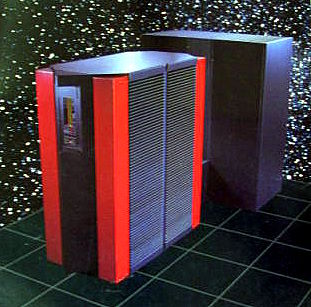 Press photo of a Cray Y-MP 2E system