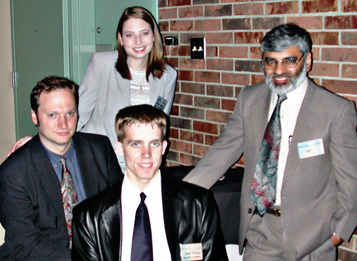 Arif Khan and other members of the ITEC-Ohio staff.