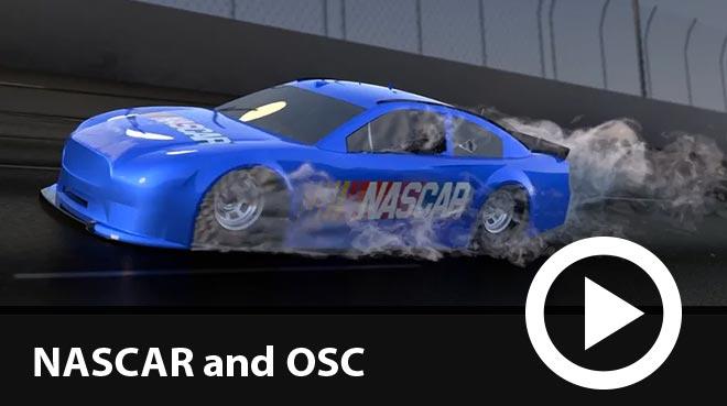 NASCAR simulation